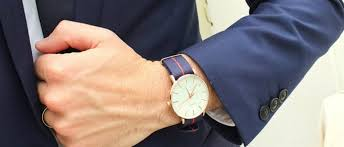 best canvas strap watches the idle man canvas strap watch mens navy suit