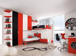 Bedroom Magnificent Red And White Bedroom Red And Gray Bedroom