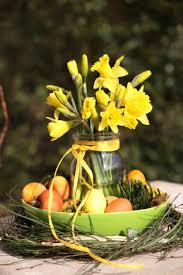 Deko Tipp Grün Gelbe Harmonie Natürliche Deko Im Frühling