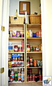an organized kitchen pantry