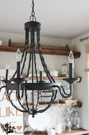 farmhouse home decorating homedepot dining room light fixture the wood grain cottage