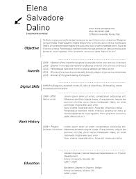 Free Word artists resume template preview