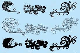 Tattoo Tribal Wave Vector Art