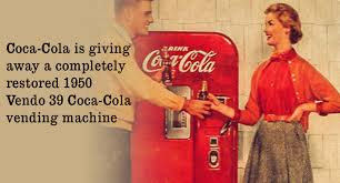 1950 Vendo 39 Coca Cola Vending Machine Impressive 48 Vendo 48 CocaCola Vending Machine Giveaway SweetiesSweeps