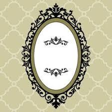 oval frame tattoo design. Decorative Frame Tattoo Idea Oval Design
