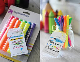 diy office gifts. Highlighter Back To School Teacher Gift Diy Office Gifts