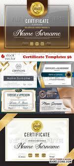 Дипломы и сертификаты в векторе скачать бесплатно Сертификаты и дипломы векторный клипарт certificate templates 56