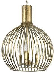 great cage pendant light home rajah regency antique gold industrial kmart