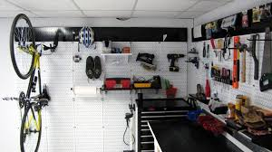 white wall control metal pegboard being