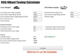 Ford Truck 5th Wheel Towing Capacity Chart Choosing A Truck To Pull A Fifth Wheel Fifth Wheel Magazine
