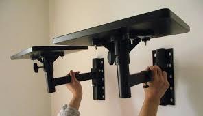 speaker wall shelf professional speaker stand speaker surround bracket wall mount stereo speaker stands ledge hanger speaker wall shelf wall mount