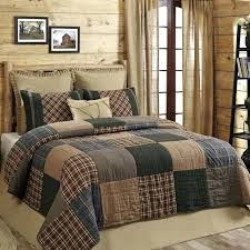 browning bed sets amazing queen quilt set rustic primitive pl on browning baby buckmark plaid