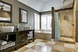 Bathroom: Inspiring Bathroom Contemporary Color Schemes And Paint Colors  For On from Contemporary Bathroom Color