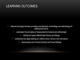 Principles Of Artificial Lighting Light Sound Intd 302 Assoc Prof Dr Noor Hanita Abdul Majid