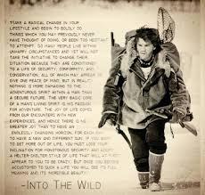 Into The Wild Quotes Gorgeous Into The Wild Book Quotes Enchanting Into The Wild Quotes Rrrtv