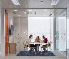 office privacy pods. New Fit-outs Are Incorporating Quiet And Privacy Via Small, Enclosed Spaces That Available For Any Employee To Use. Pods Or Frosted Glass Partitions Office