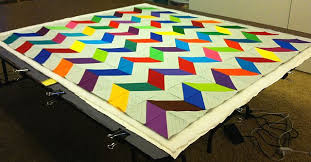 Christa's Quilt Along 3.6 – Marking and Basting the Chevrons ... & Layer 3 Quilt Top Adamdwight.com