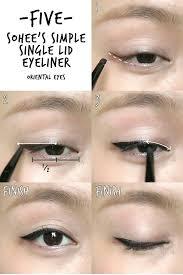 6 k pop inspired korean style eyeliners tutorial madokeki makeup reviews tutorials