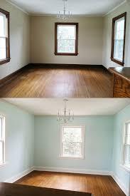 home talk painting wood trim