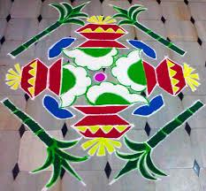 Sankranthi Designs With Dots Makar Sankranti Muggulu 15 1 Dots Traditional Pongal