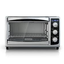 black decker cto6335s digital convection toaster oven stainless steel 6 slice