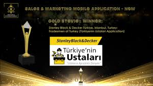 Stanley Black Decker Wins A Gold Stevie Award In The Stevie