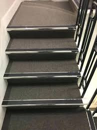 carpet tiles for stairs install grey to commercial clients gray and wood