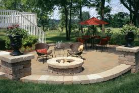 concrete patio with square fire pit. Brilliant Ideas Of Free Backyard Landscaping Attractive Fire Pit Designs Unique Outdoor Patio With Concrete Square