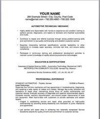 resume resume help and resume builder  auto mechanic resume template topresumeinfoautomechanic