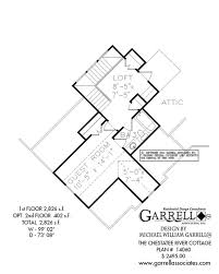chestatee river cottage 2826 house plan house plans by garrell Mountain Craftsman House Plans chestatee river cottage house plan 14060, 2nd floor plan mountain craftsman house plans with photos
