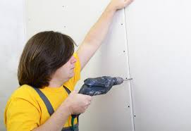 how to hang sheet rock how to install a dry wall at the home depot
