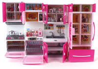 plastic dollhouse furniture sets. kawaii hello kitty girl kids multifunctional kitchen toys set children brinquedos meninas gilr dollhouse furniture with plastic sets a