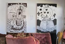 hipster bedroom art pineapple wall decor giclee print art