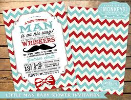 Mustache And Bow Tie Baby Shower Invitations Mustache And Bow Tie Bow Tie And Mustache Baby Shower