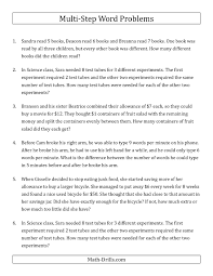 word problems with two step equations rounding to the nearest multi step equation word problems worksheet