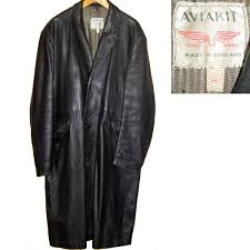lewis leathers aviakit 60s vintage leather coat madison