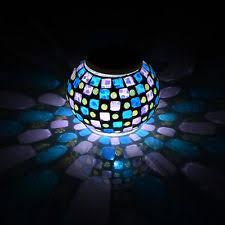 Add Color Without Plants  Solar Mosaic Balls Garden Stake Solar Mosaic Garden Lights