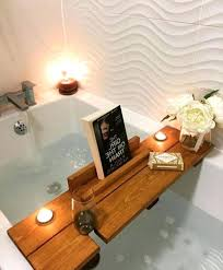 bathtub book holder bath caddy with stand ikea