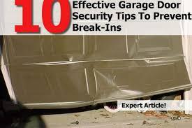 garage door protector10 Effective Garage Door Security Tips To Prevent BreakIns