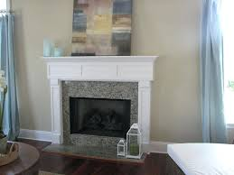 fireplace mantels ideas white charming blue living room curtain idea feat lovely mantel and surround plus