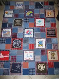 memory quilt with denim rag style.. | Quilts | Pinterest | Dads ... & Ideas · memory quilt ... Adamdwight.com