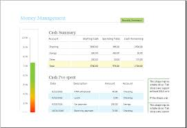 Money Management Template Money Management Template For Excel Xls Excel Templates