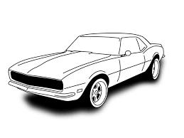 1024x768 67 camaro sketch
