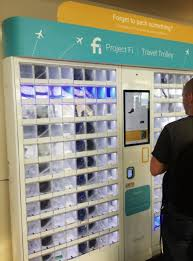 Insurance Vending Machine Airport Custom Get Free Travel Items At The Airport Through Project Fi Heels