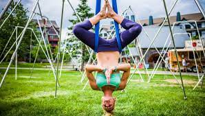 8 essential aerial yoga poses you have