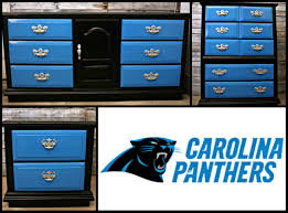 Nfl Bedroom Furniture Carolina Panthers Furniture Blue Furniture Sports Themes