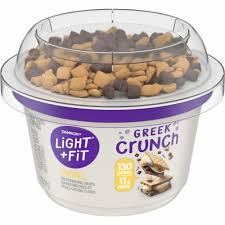 Find quality products to add to your shopping list or order online for delivery or pickup. Fry S Food Stores Dannon Light Fit Greek Crunch S Mores Nonfat Yogurt With Toppings 5 Oz
