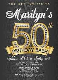 50th birthday invitation templates free download free 50th birthday party invitations wording bagvania
