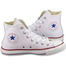converse high tops white. converse womens shoes all star high white leather ($85) ❤ liked on polyvore featuring tops