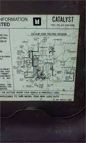solved here s my vacuum diagram for my 1989 2wd isuzu fixya here s my vacuum diagram for my 1989 2wd isuzu pickup 2 3 liter hope it helps